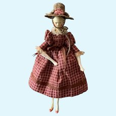 Good Early Groedner Wooden Doll