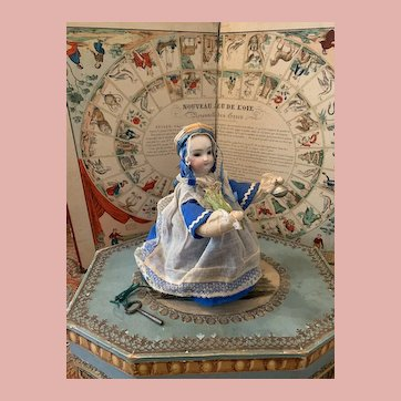 """Rare Early Little French Automat by """"Theroude"""""""