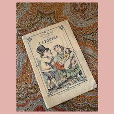 "Rare Little French Children Book ""L'Education de la Poupee"""