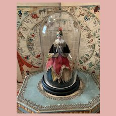 "Early China ""Kister"" Fortune Teller Doll"