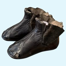 Early bigger  Leather Boots
