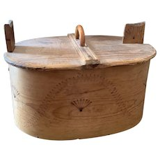 Big Early Wooden Box/Container
