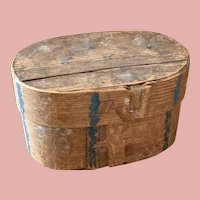 Early German Wooden Box