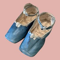Big Early French Fashion Doll Shoes