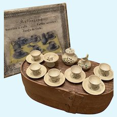Original Wooden Tea/Coffee Set in Original Box