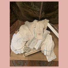 Rare French Doll Cloths Samples