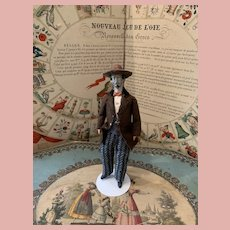 Early Pfeiffer Dollhouse Gentleman