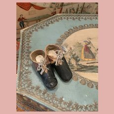 Early Lady Doll Shoes