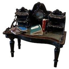 Rare Soehlke Dollhouse Desk