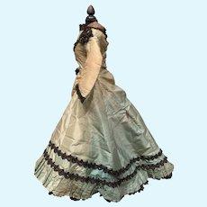 French Fashion Evening Ball Dress