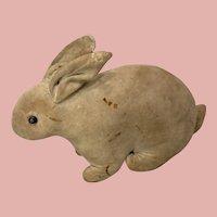 Early Velvet Steiff Rattle Rabbit