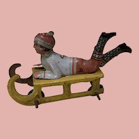 Rare Small Penny Toy Sled