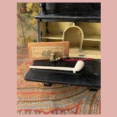 Rare Lot of Dollhouse Gentleman Accessoires