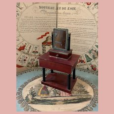 Rare & Early Lot of Dollhouse Furniture