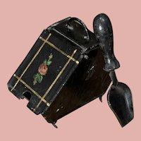 Unusual Little Coal Box by Bing