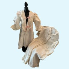 Two Early Fashion Dolls Undergarments
