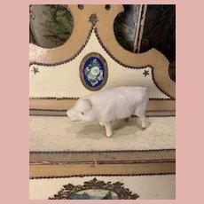 Old Miniature Pig Figure