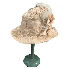 Old French Silk Hat for Dolls