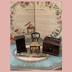 3 Old Rock & Graner Furniture Pieces