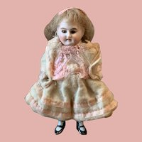 Little Bisque Doll for Dollhouses