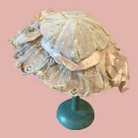 Sweet old French Doll Hat