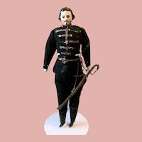 Rare Early Dollhouse Gentleman
