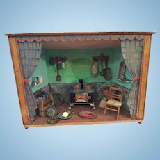 Early Dollhouse Kitchen