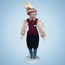 Lovely China Doll Gentleman for Dollhouses