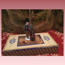 Lovely China Dollhouse Musician