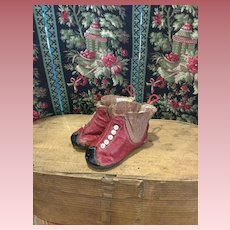 Wonderful early Doll Boots