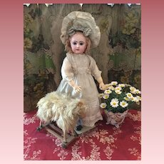 Rare Walking Jumeau Doll for Roullet et Decamps