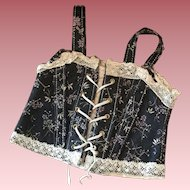 SALE Lovely Old French Corset for Bebe