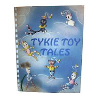 REDUCED! Bakelite Crib Toy Cribtoy Story Book Tykie Toy Tales