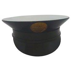 Vintage WWII Navy Hat Cap Ladies Powder Compact