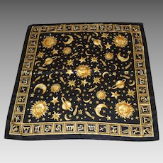 Lovely Celestial Astrology Scarf