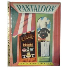 "Pantaloon A Little Golden Book Vintage 1951 ""A 1st Edition"""