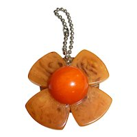 Bakelite Charm Zipper Pull Pendant for Necklace Bracelet Phone Purse