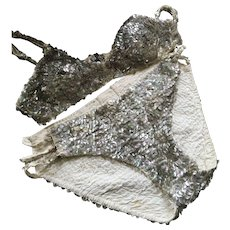 Showgirl / Circus Costume - Sequinned, Circa 1920's - Red Tag Sale Item