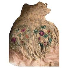 Chiffon and Beaded Dress for Rework - Original 1920's