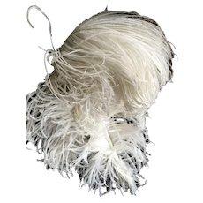 Original Edwardian Ostrich Feather Plumes circa 1910