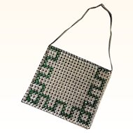 1920's Art Deco Rhinestone Evening Bag