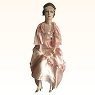 Vintage French 1920's Boudoir Doll