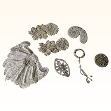 Edwardian Faux Pearl Appliqués for Projects