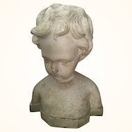 Child/Cherub Bust