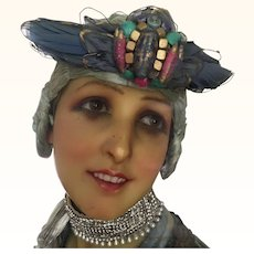 Rare original 1920's Egyptian Revival head dress