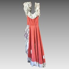 Original Rare Marinette & Aumond Can Can Dress dating to the 1920's