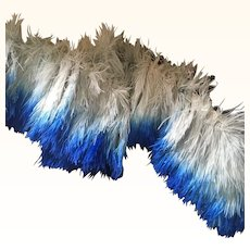 Original 1920's Ostrich Feather Trim