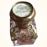 Small Perfume Bottle - Palais Royal Grand Tour - Mid 19th Century