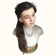 Pierre Imans Wax Bust/Mannequin of a Child - 1920's
