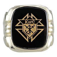 Vintage Knights of Columbus Ring